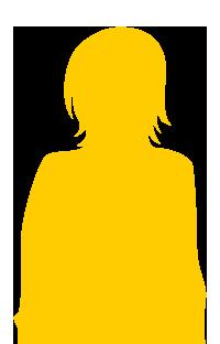 silhouette-fille-jaune
