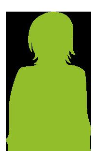 silhouette-fille-verte