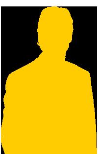 silhouette-gars-jaune