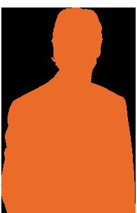 silhouette-gars-orange