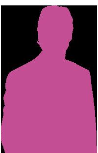 silhouette-gars-violette